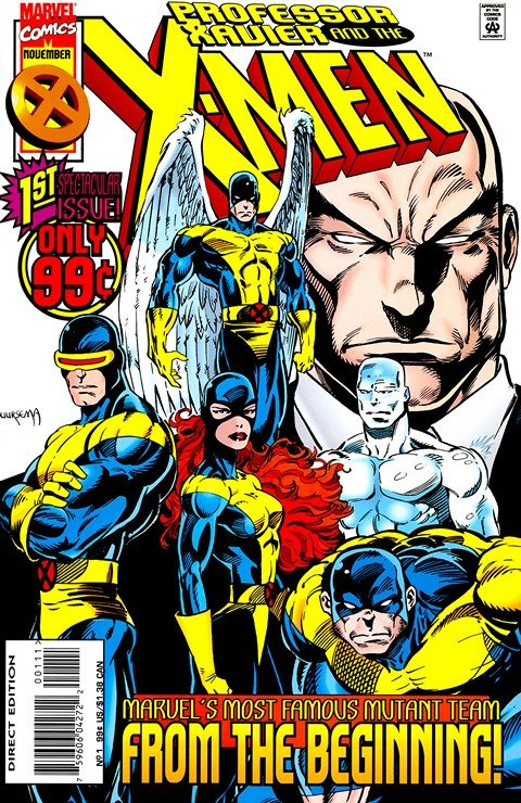 Professor Xavier and the X-Men #1 – 18