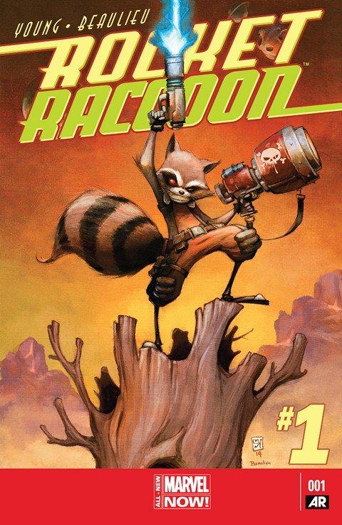 Rocket Raccoon Vol. 2 #1 – 5 + Specials