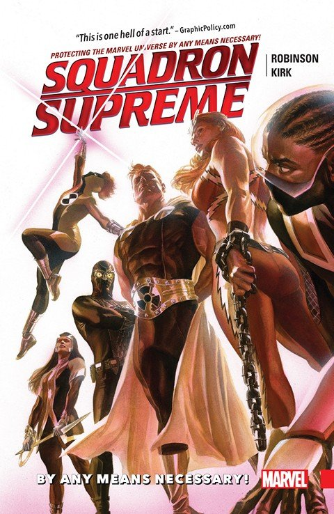 Squadron Supreme Vol. 1 – By Any Means Necessary!