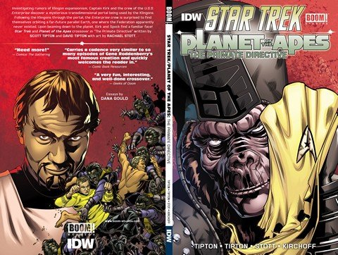 Star Trek – Planet of the Apes – The Primate Directive