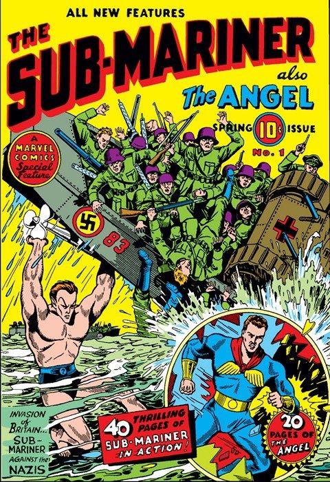 Sub-Mariner Comics #1 – 42