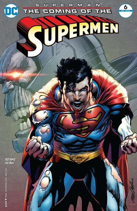 Superman – The Coming of the Supermen #6