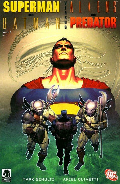 Superman and Batman Vs Aliens and Predator #1 – 2