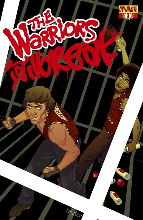 The Warriors – Jailbreak #1 – 4
