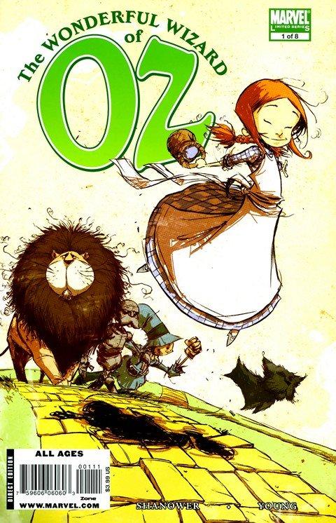 The Wonderful Wizard of Oz #1 – 8 (2009)