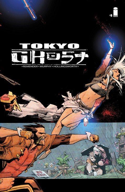 Tokyo Ghost #6 – 8