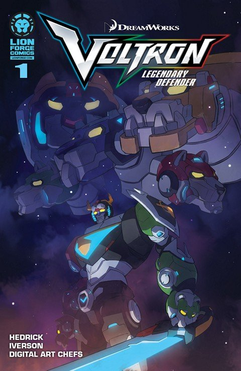Voltron – Legendary Defender #1