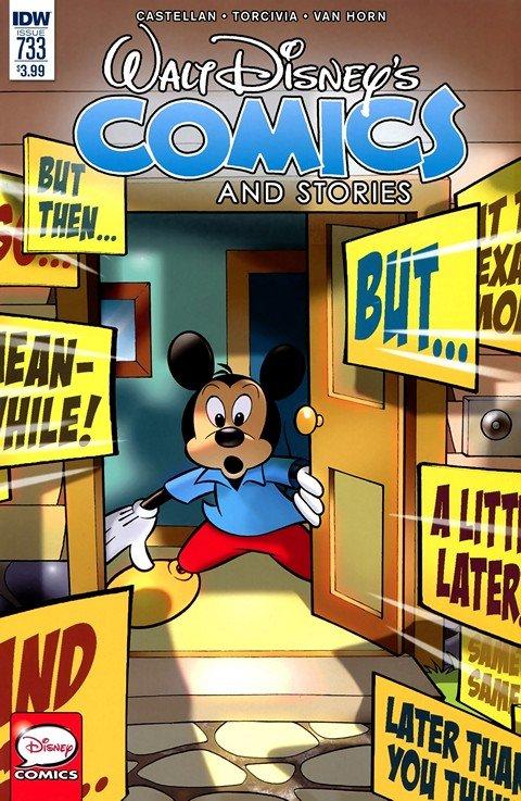 Walt Disney's Comics and Stories #733