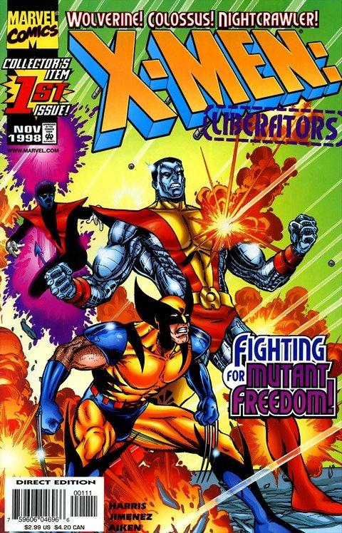 X-Men – Liberators #1 – 4