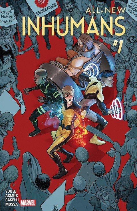 All-New Inhumans #1 – 11 + TPBs (2016)