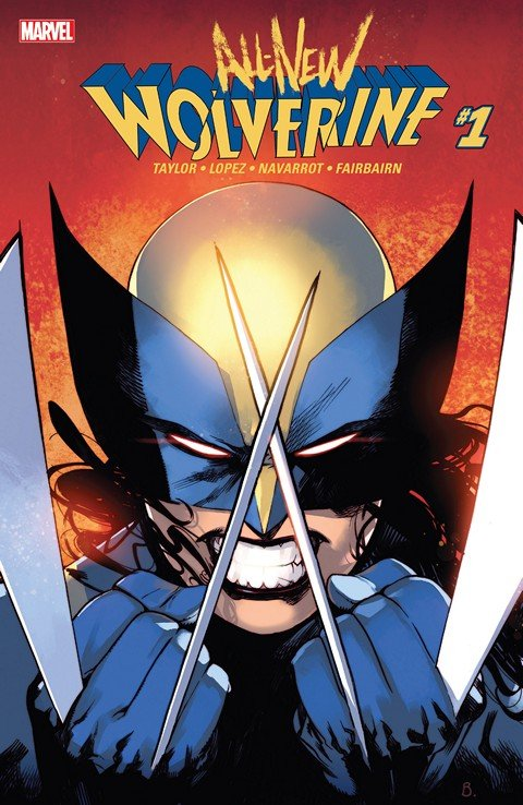 All-New Wolverine #1 – 35 + TPB Vol. 1 – 6 (2015-2018)