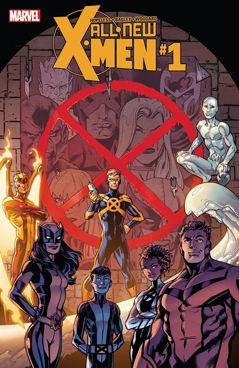 All-New X-Men #1 – 19 + TPBs (2016-2017)