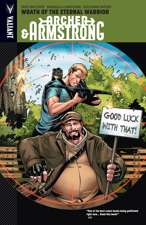 Archer & Armstrong Vol. 2 – Wrath of the Eternal Warrior