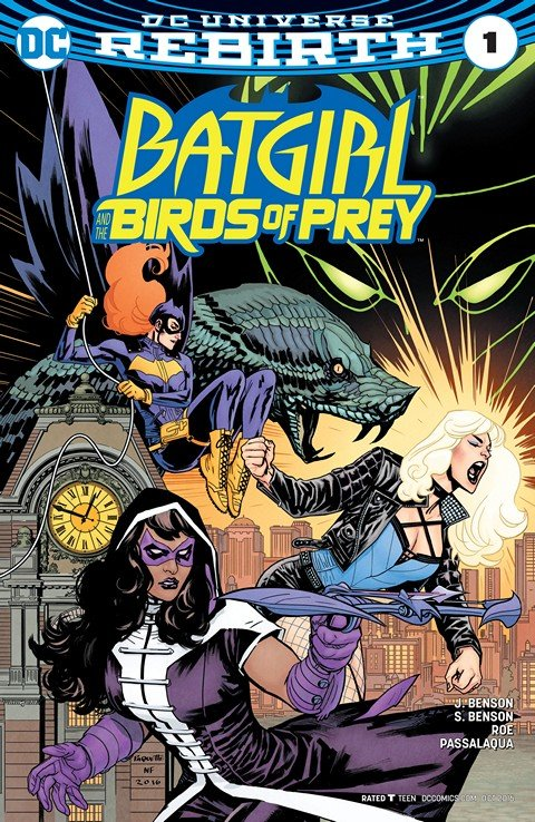 Batgirl and the Birds of Prey #1 (2016)