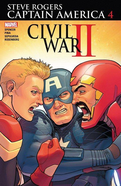 Captain America – Steve Rogers #4 (2016)