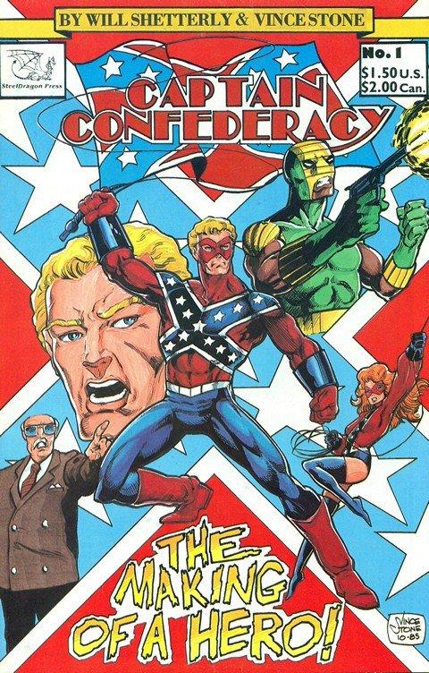 Captain Confederacy (Collection)