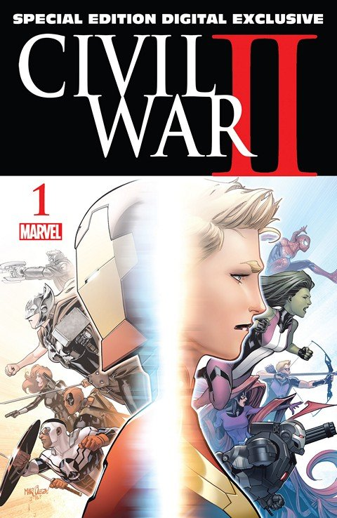 Civil War II #1 – Special Edition Digital Exclusive (2016)