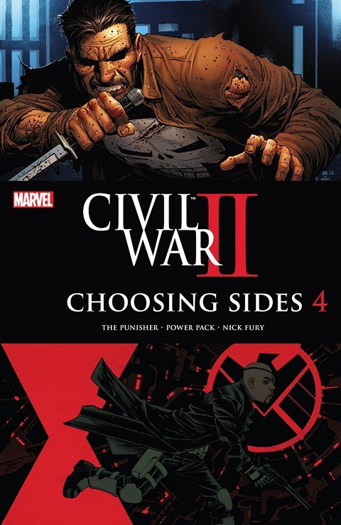 Civil War II – Choosing Sides #4 (2016)