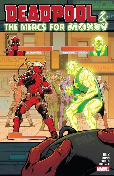 Deadpool & The Mercs For Money #2 (2016)