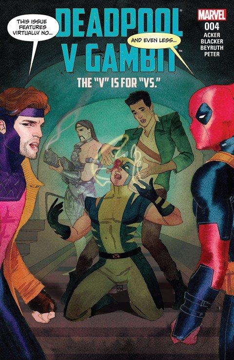 Deadpool v Gambit #4 (2016)