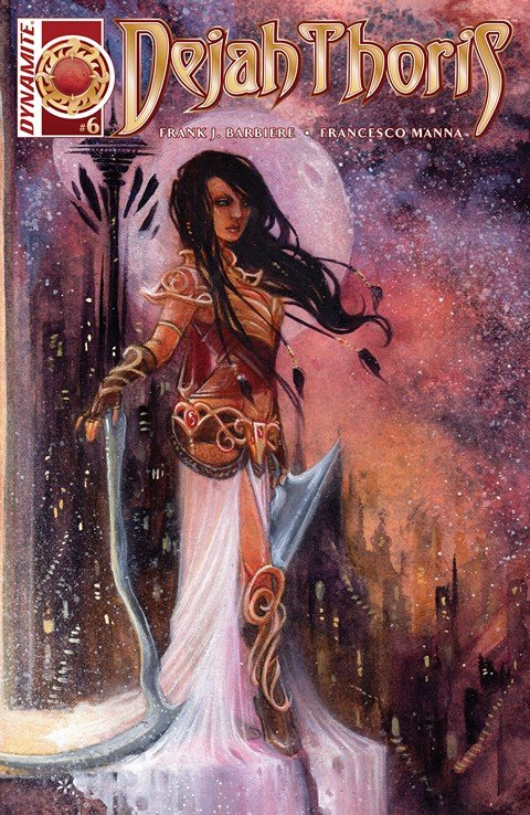 Dejah Thoris #4 – 6 (2016)