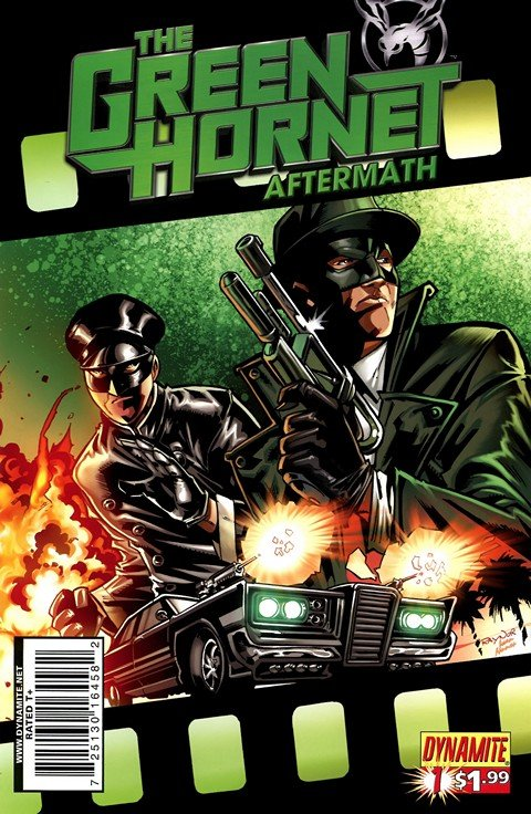 Green Hornet – Aftermath #1 – 4