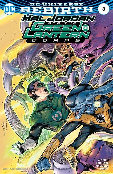Hal Jordan and the Green Lantern Corps #3 (2016)