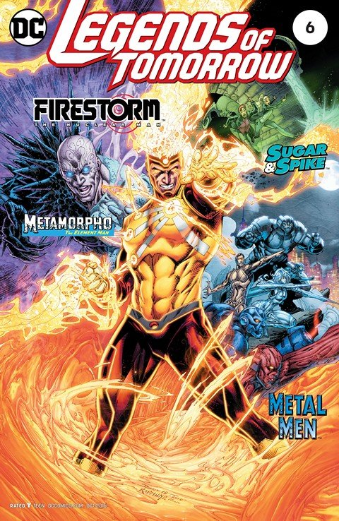 Legends of Tomorrow #6 (2016)