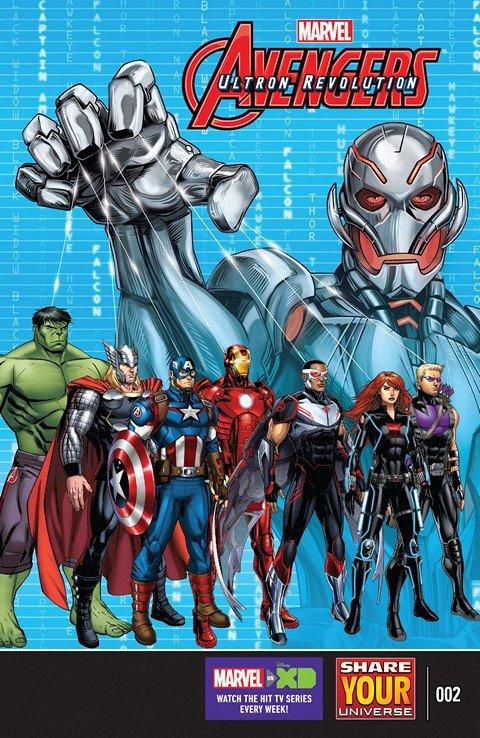 Marvel Universe Avengers – Ultron Revolution #2