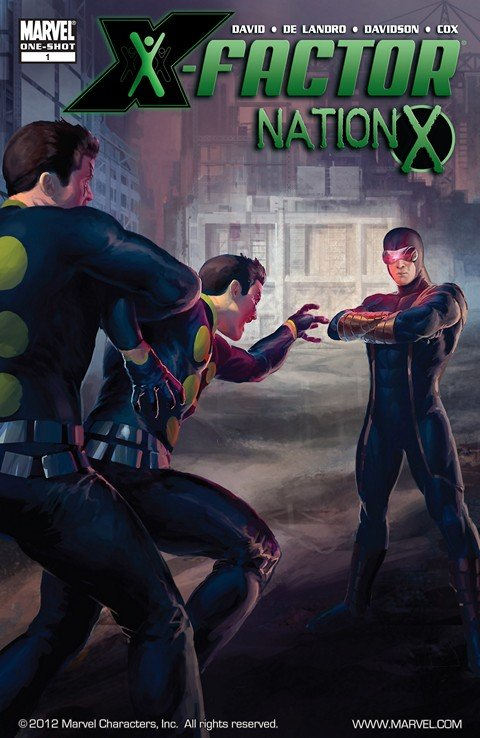 Nation X – X-Factor #1