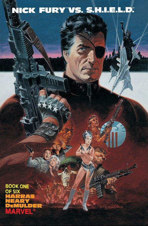 Nick Fury vs. S.H.I.E.L.D. #1 – 6