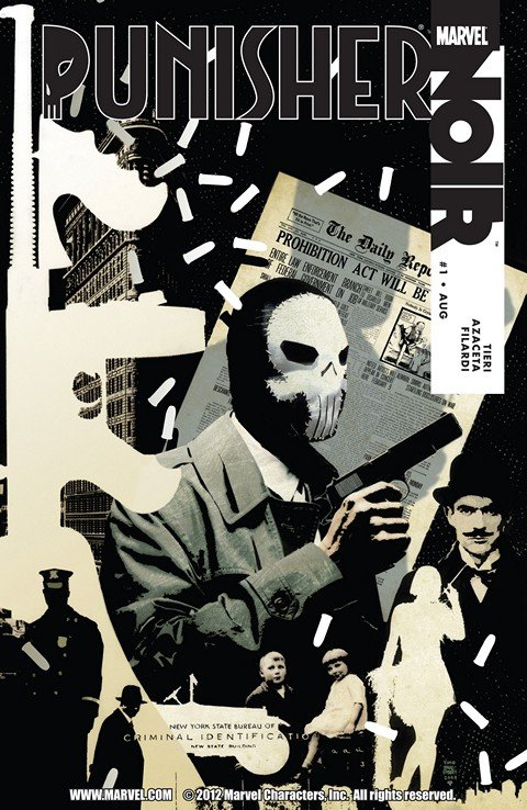 Punisher Noir #1 – 4 (2009)