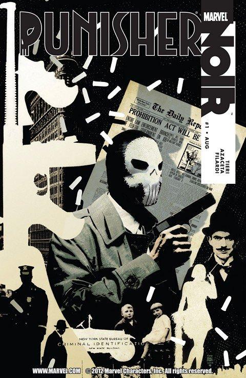 Punisher Noir #1 – 4 (2009)