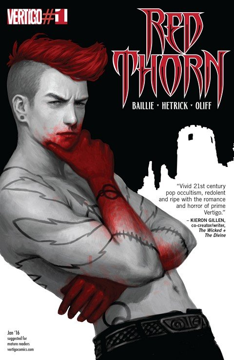 Red Thorn #1 – 10 (2016)