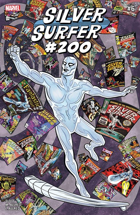 Silver Surfer #6 (2016)