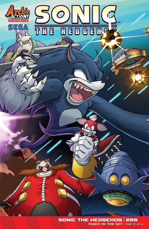 Sonic the Hedgehog #285 (2016)