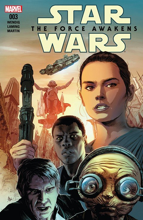 Star Wars – The Force Awakens Adaptation #3