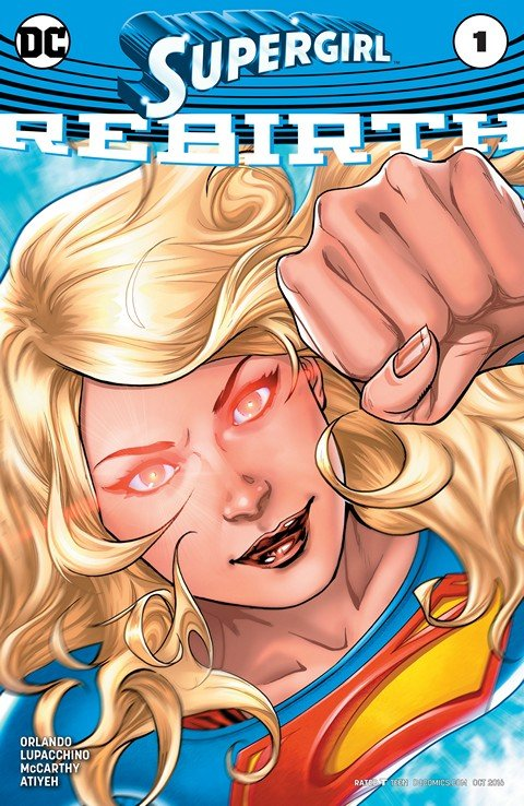Supergirl – Rebirth #1 (2016)