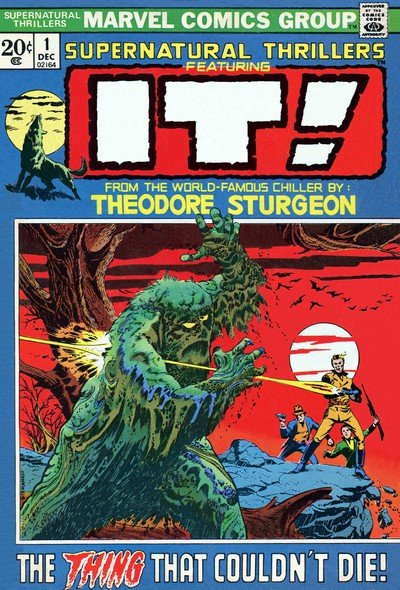 Supernatural Thrillers #1 – 15 (1972-1975)