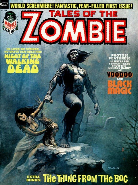Tales of the Zombie #1 – 13 + Annual #1 (1973-1975)