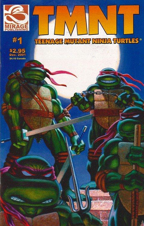 Teenage Mutant Ninja Turtles #1 – 32 (2001-2014)