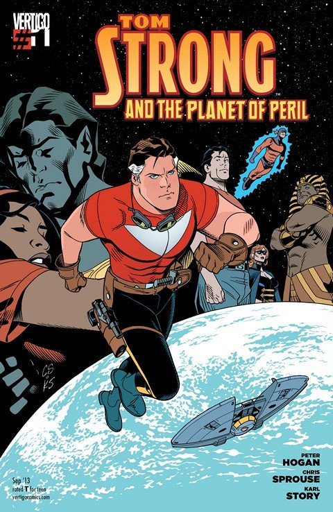 Tom Strong and the Planet of Peril #1 – 6