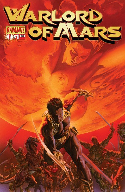 Warlord of Mars #0 – 35 + 100 + Annual