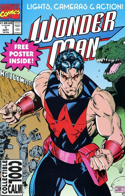 Wonder Man Vol. 1 #1 – 29 + Annual 1-3 (Marvel) (1991-1994)