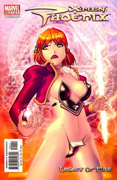 X-Men Phoenix Legacy of Fire #1 – 3 (2003)
