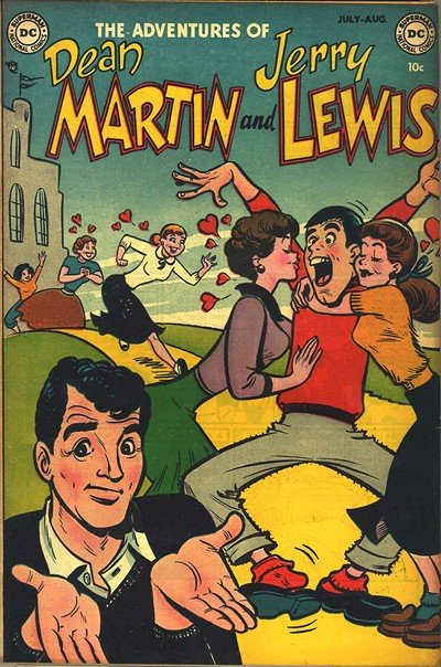 Adventures of Dean Martin and Jerry Lewis #1 – 40 (1952-1957)