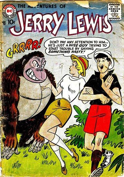 Adventures of Jerry Lewis #41 – 124 (1957-1971)