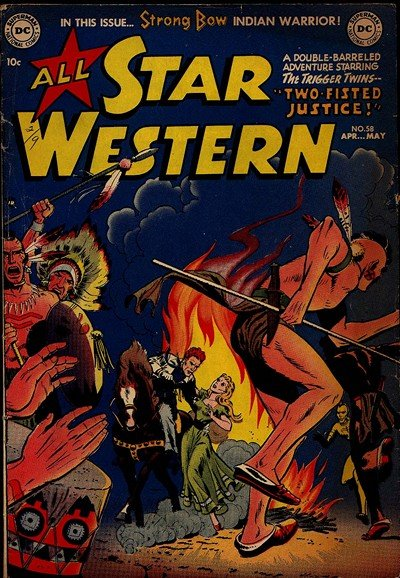 574b93536dbd All Star Western  58 – 119 (1951-1961) · DC Comics