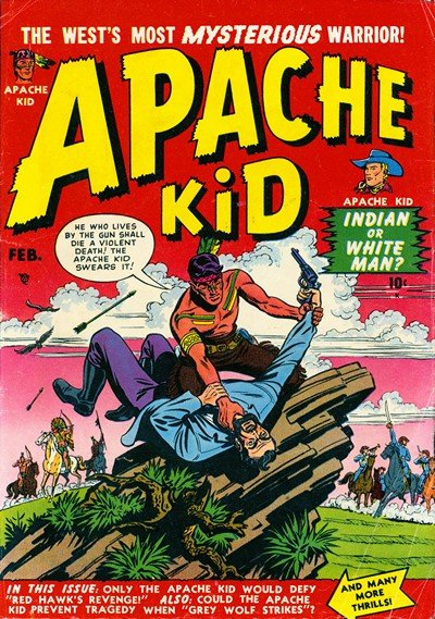 Apache Kid Vol. 1 #2 – 19 + #53 (1950-1956)