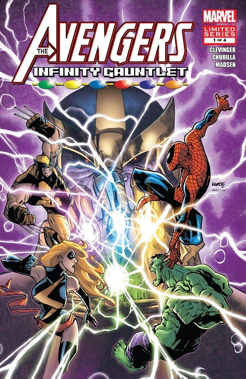 Avengers & The Infinity Gauntlet #1 – 4 (2010-2011)